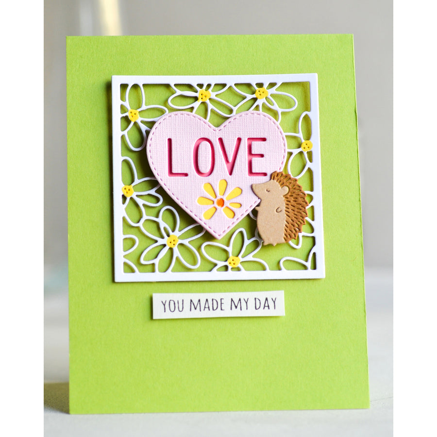 Poppystamps Die - Love Heart - 2295
