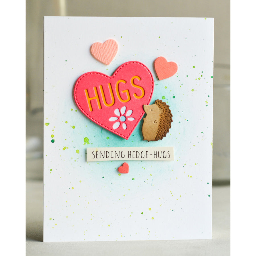 Poppystamps Die - Hugs Heart - 2299