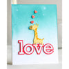 Poppystamps Die - Love Outline - 2309