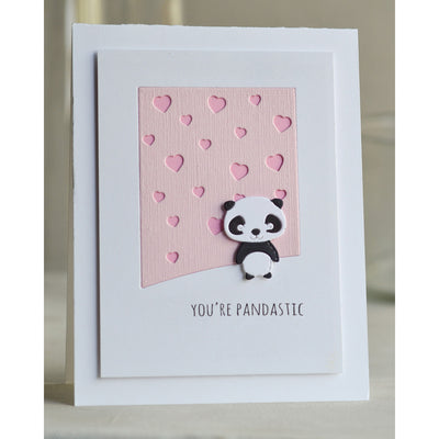 Poppystamps Die - Whittle Panda - 2306