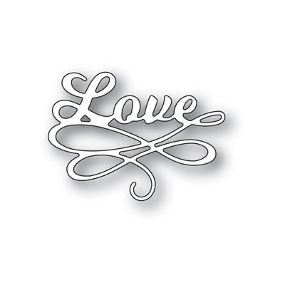 Poppystamps Die - Love Flourish - 2311