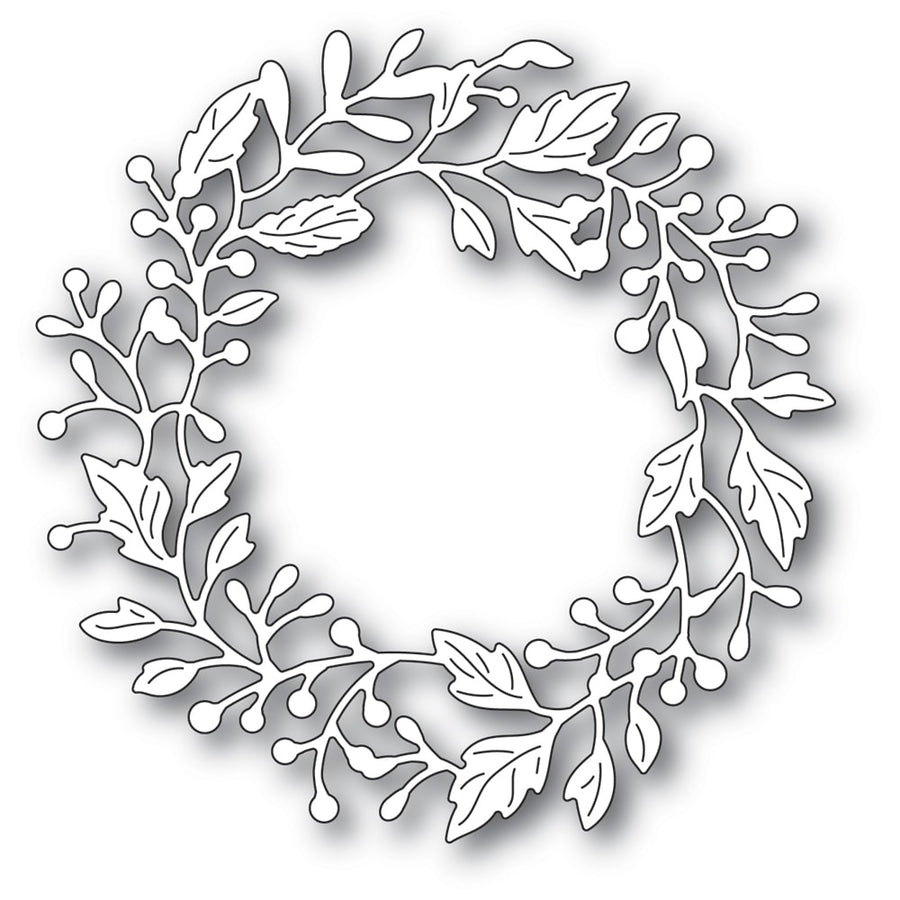 Poppystamps Die - Adriana Wreath - 2320