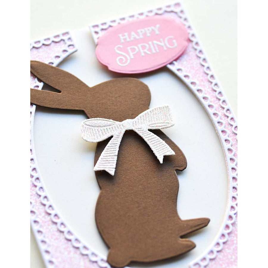 Poppystamps Die - Wishful Bunny - 2357