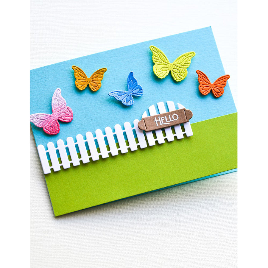 Poppystamps Die - Intricate Cut Butterflies - 2367