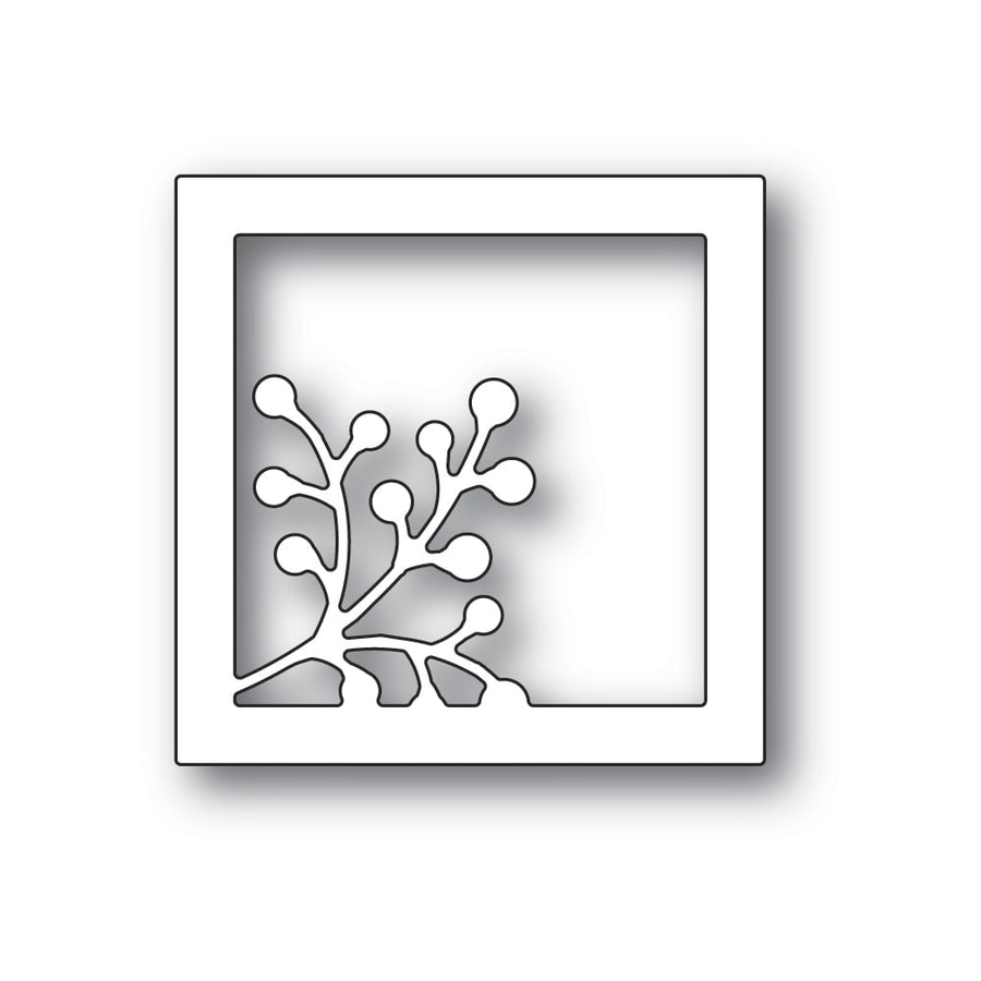 Poppystamps Die - Berry Square Frame - 2324