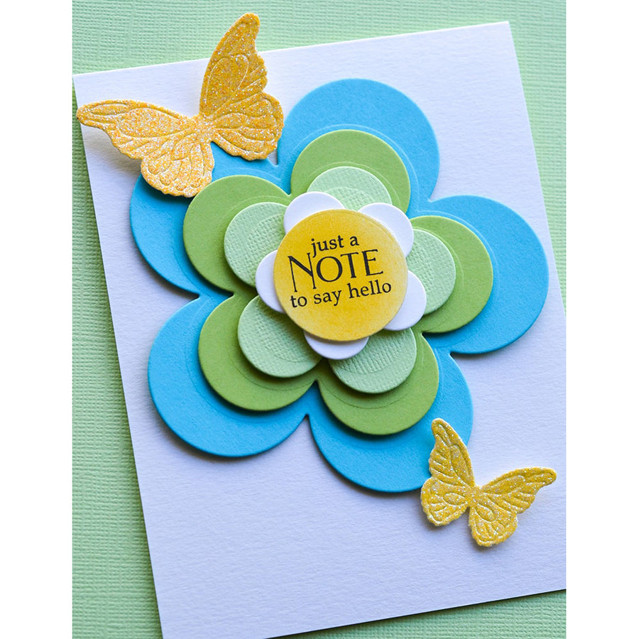 Poppystamps Die - Flora Bloom Solids Set - 2331