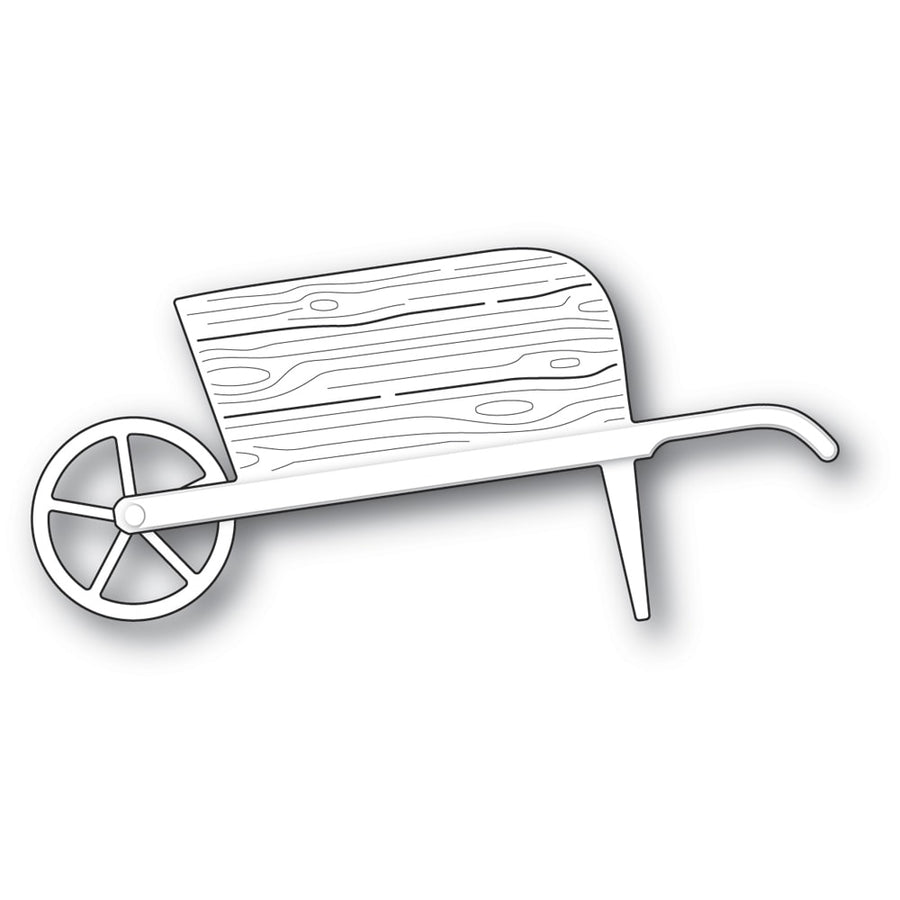 Poppystamps Die - Country Garden Wheelbarrow - 2336