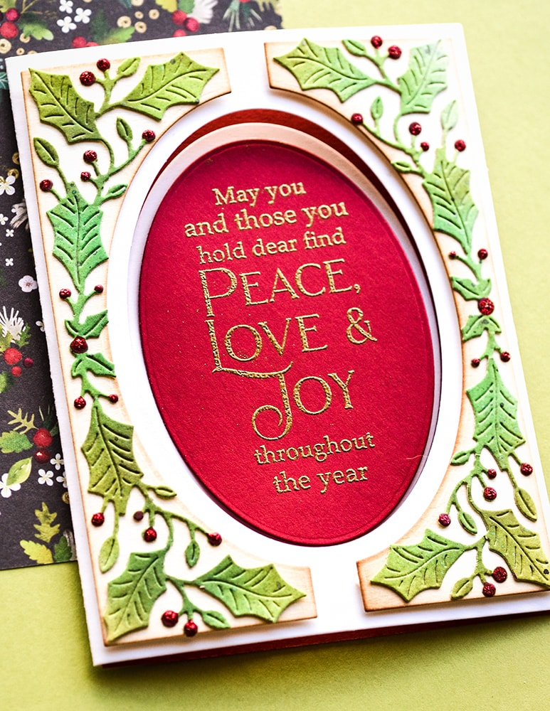 Poppystamps Stamps - Joyous Christmas Wishes - CL497