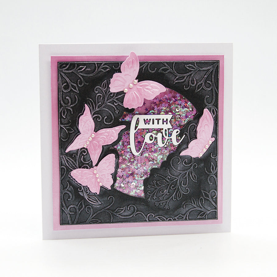 Toinic Studios - Butterfly Forest Die & Embossing Folder - 2360e
