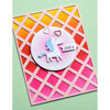 Poppystamps Die - Lattice Plate - 2427