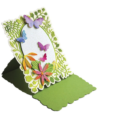 Poppystamps Die - Fern and Daisy Pop Up Easel Set - 2377