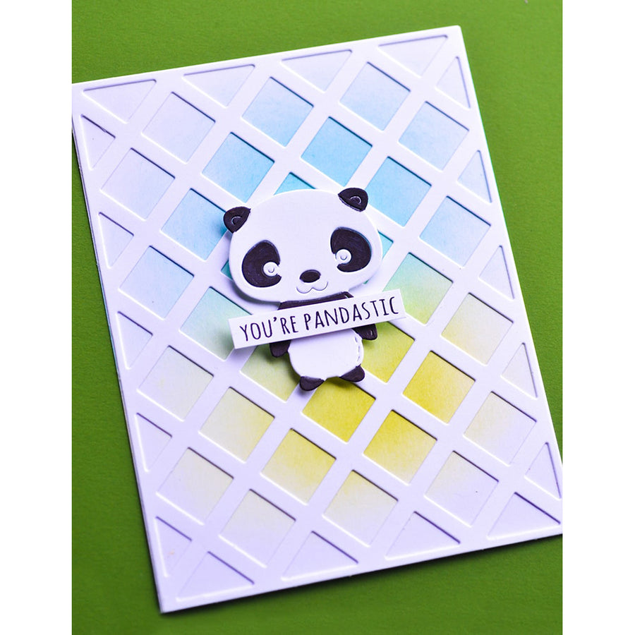 Poppystamps Die - Whittle Giant Panda - 2379