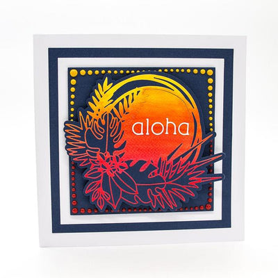 Tonic Studios - Essentials - Tropical Fiesta Frame Die Set - 2389E