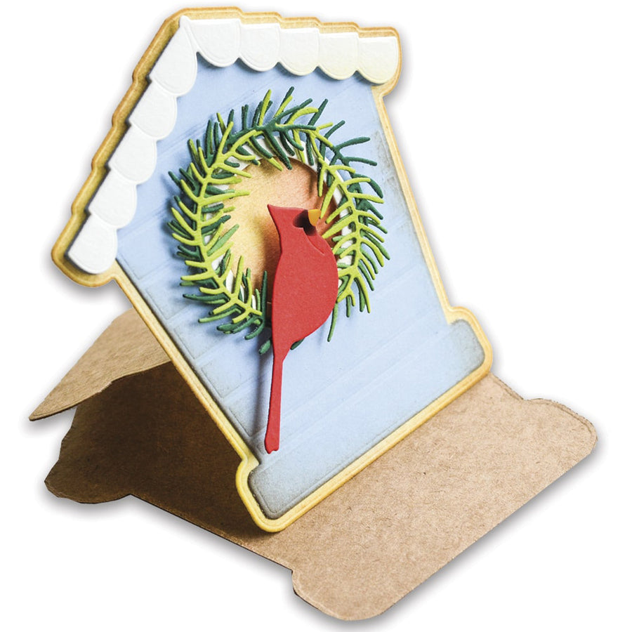 Poppystamps Die - Bird House Pop Up Easel Set - 2396