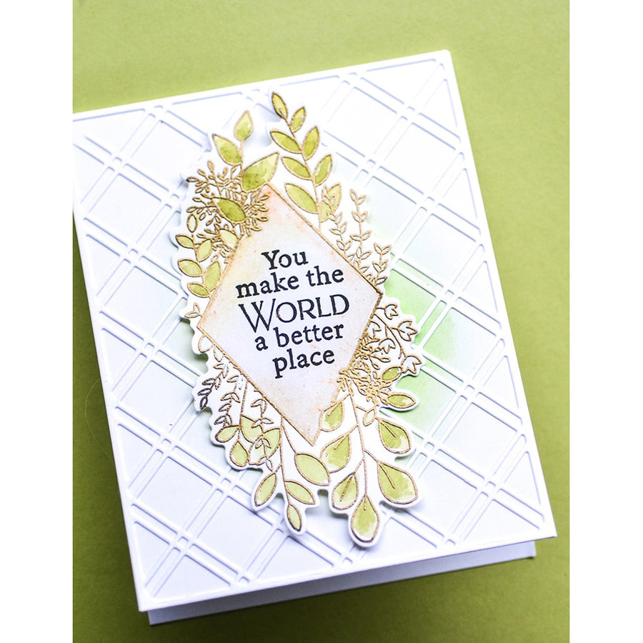 Poppystamps Stamp & Die - Diamond Sentiments - CB498