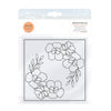 Toinic Studios - Embossing Folder - Beautiful Blossom - 2457e