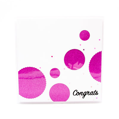 Tonic Studios - Congrats Decorative Sentiment Die Set - 2539e