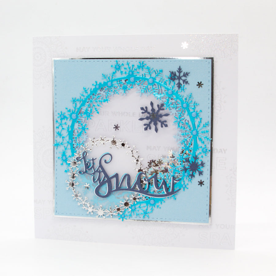 Tonic Studios - Falling Snow Wreaths Die Set - 2684e
