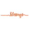 Tonic Studios - Tonic Studios - Blessings Sentiment Strip Die Set - 2848e