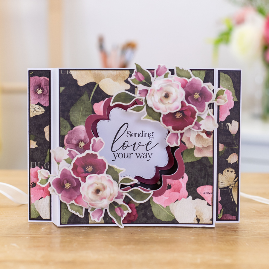 Nitwit - Bloom with Grace - Clear Acrylic Stamp Set