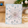 Sara Signature Collection - Glittering Snowflakes - Metal Die - Frosted Dimension