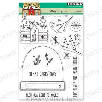 Penny Black Stamps - Cozy Nights - 30-613