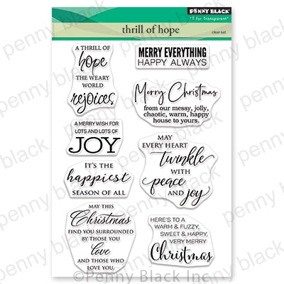 Penny Black Stamps - Thrill Of Hope - 30-616