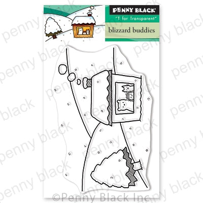 Penny Black Stamps - Blizzard Buddies (Mini) - 30-637