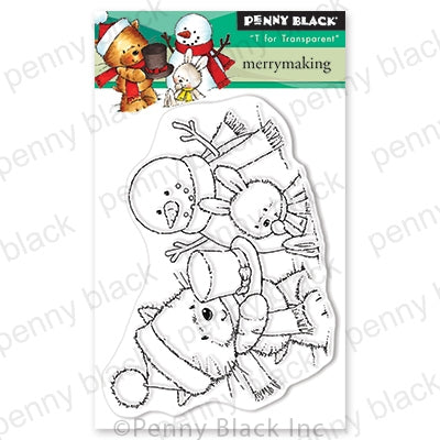 Penny Black Stamps - Merry Making (Mini) - 30-638