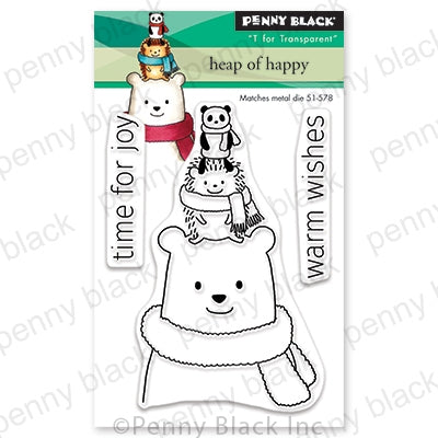 Penny Black Stamps - Heap Of Happy (Mini) - 30-640