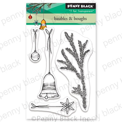 Penny Black Stamps - Baubles & Boughs (Mini) - 30-641