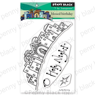 Penny Black Stamps - Blessed Birthday (Mini) - 30-642