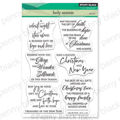 Penny Black Stamps - Holy Season - 30-648