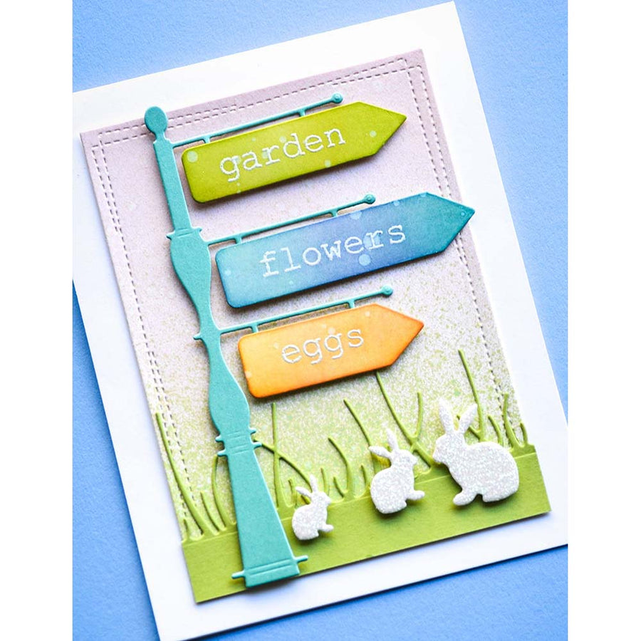 Memory Box Stamp Set - Big and Little Spring - CL5254