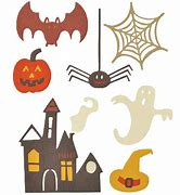 Sizzix Thinlits Dies:  Spooky Halloween Set by My Life Handmade - 661325