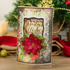 Nature's Garden - Vintage Christmas - Metal Die - Christmas Wishes