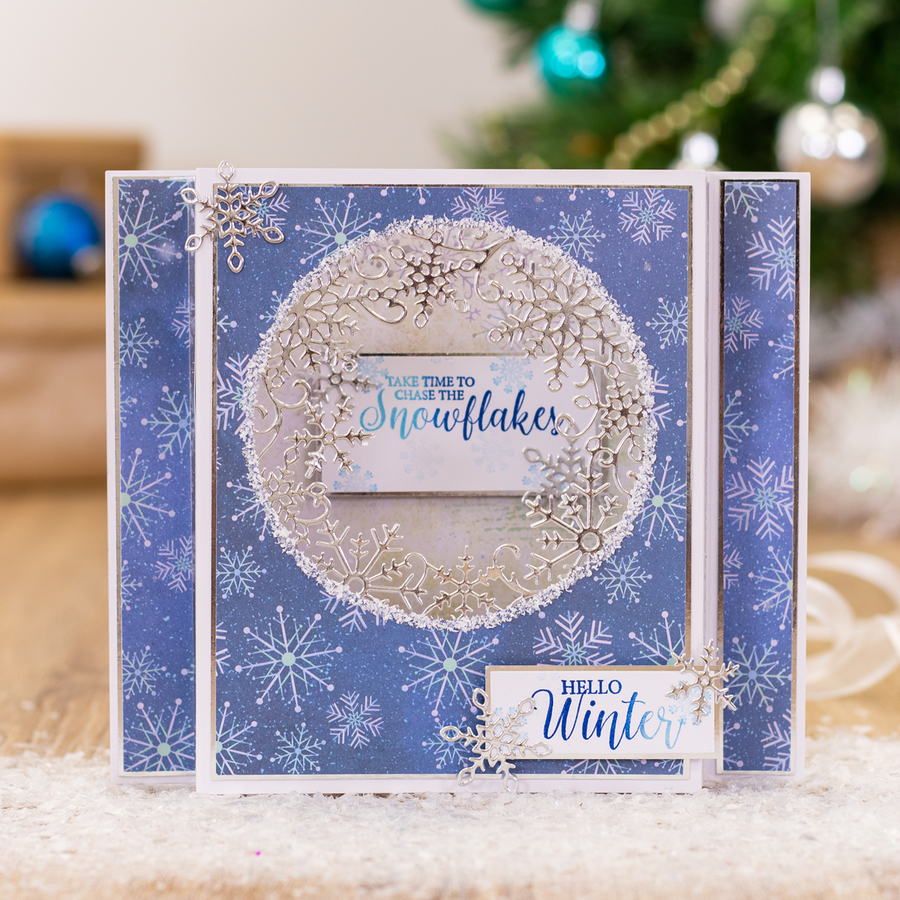 Sara Signature Collection - Glittering Snowflakes - Metal Die - Frosted Flurry