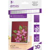 Gemini 3D Embossing Folder & Stencil - Beautiful Lilies