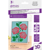 Gemini 3D Embossing Folder & Stencil - Lovely Roses