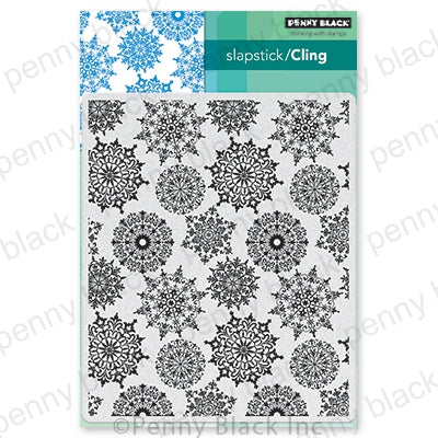 Penny Black Stamps - Snowflake Pattern - 40-706