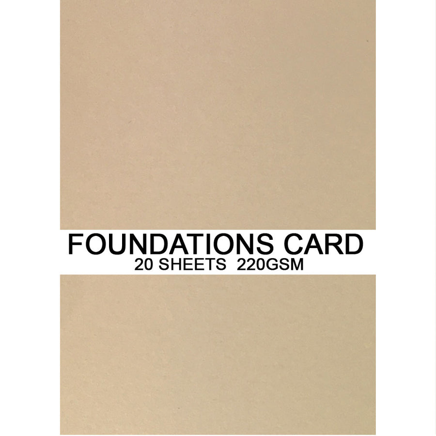 Foundations Card by Creative Expressions - Peach - A4