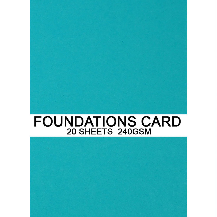 Foundations Card by Creative Expressions - Cornflower Blue - A4