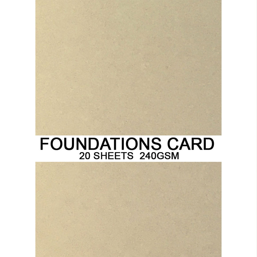 Foundations Card by Creative Expressions - Ivory - A4