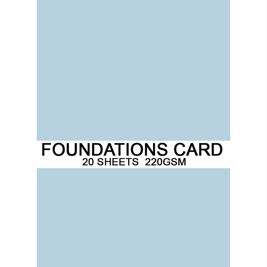 Foundations Card by Creative Expressions - Duck Egg Blue - A4