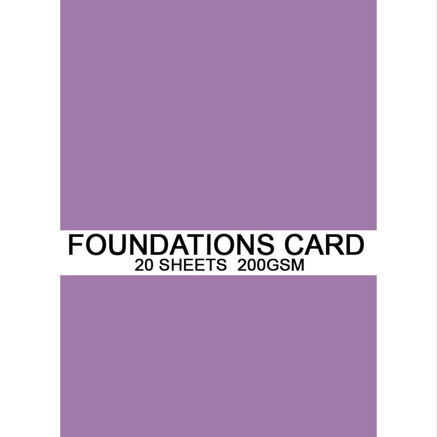 Foundations Card by Creative Expressions - Amethyst - A4
