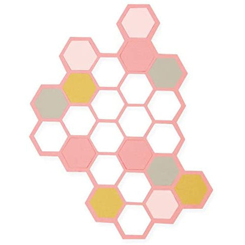 Sizzix Dies - Thinlits - Hexagons by Samantha Barnett - 662517