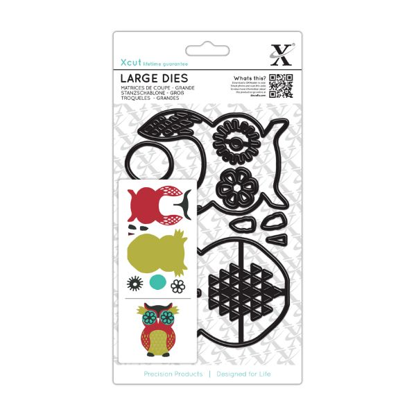 X-Cut Dies: Large Die Set - Owl  (XCU 503202)