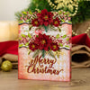 Nature's Garden - Vintage Christmas - Metal Die - Merry Christmas