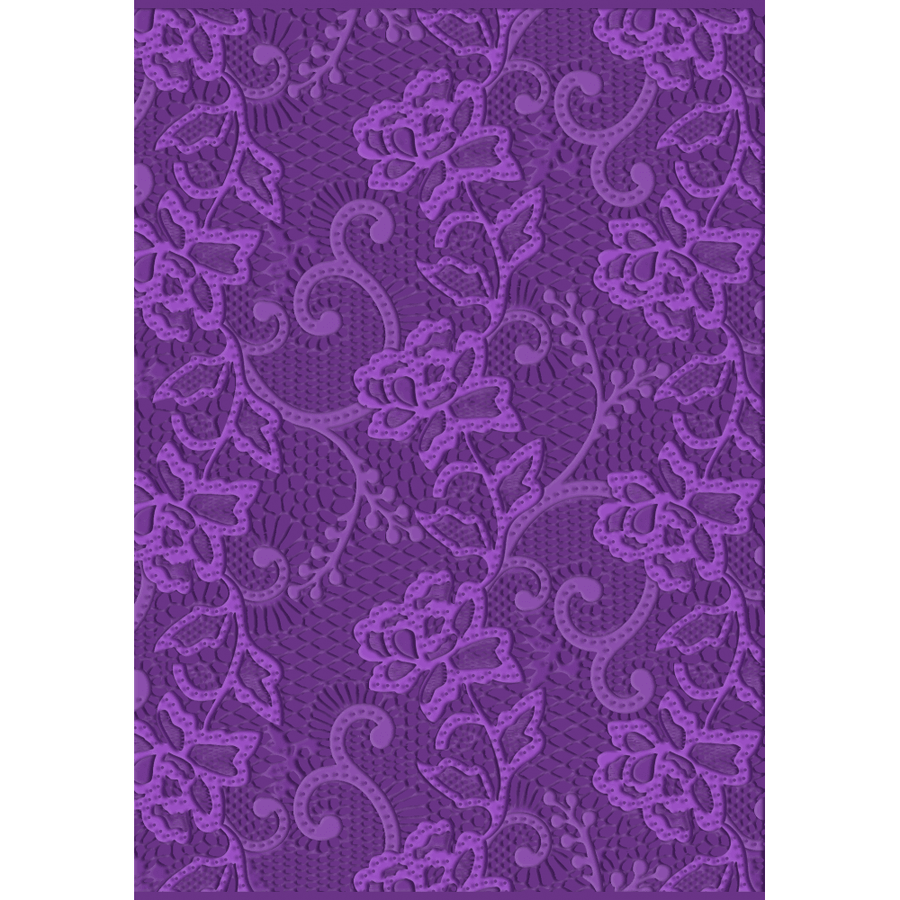Gemini - 3D Embossing Folder - Chantilly Lace