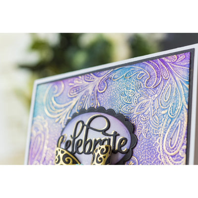 Gemini - 3D Embossing Folder - Contemporary Lace